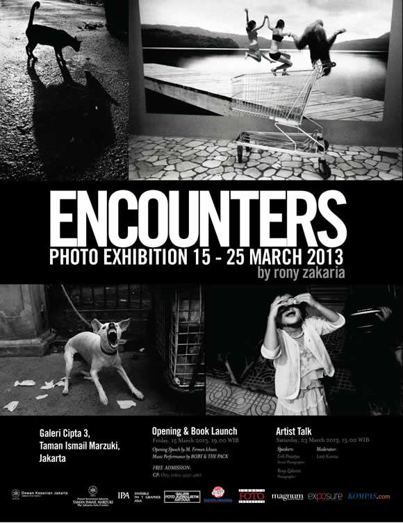 Encounters - A Monograph by Rony Zakaria Book Launch and Exhibition