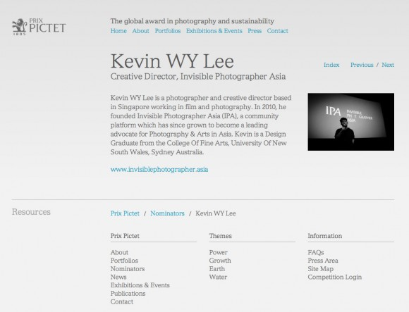 Kevin WY Lee | Prix Pictet | The global award in photography and sustainability