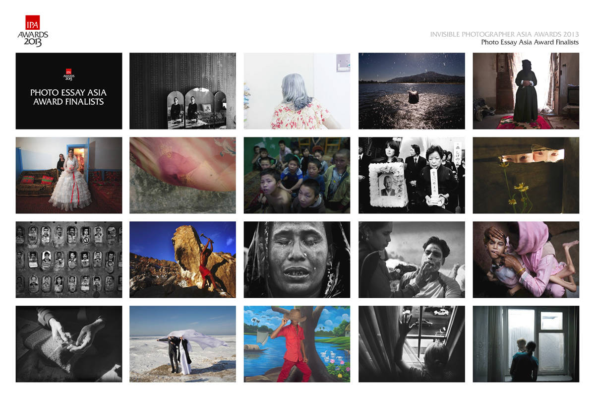 IPA Photo Essay Asia Award 2013 Finalists