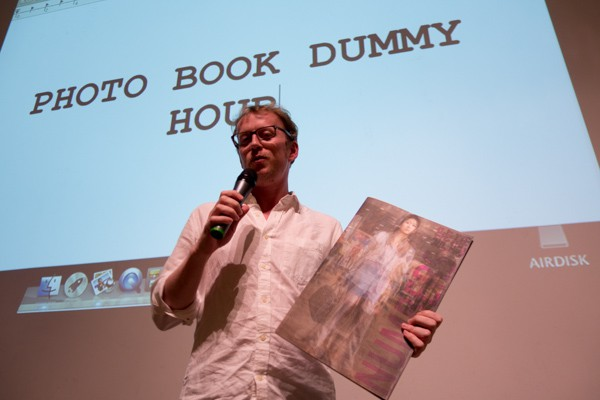 Robert presents his book during Photo Book Dummy Hour at IPA Photo Books Show.