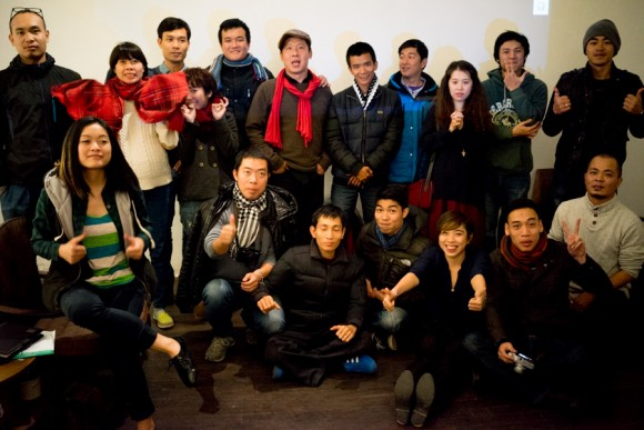 Group Shot, IPA Editing Workshop Hanoi 24th January 2014.