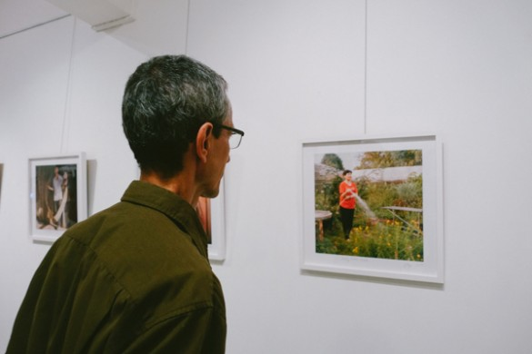 Opening Night, We Are Farmers Exhibition, by Ore Huiying