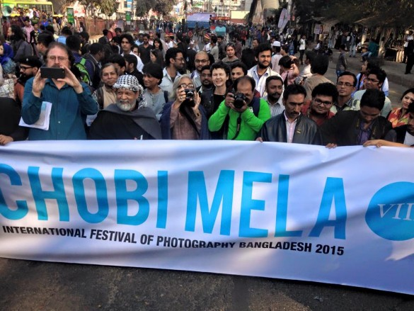Chobi Mela International Festival Of Photography 2015. Photo courtesy of the festival.