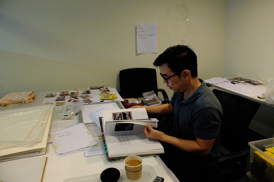 Wong Hoy Cheong, the curator of the late Ismail Hashim's UNPACK- REPACK: Archiving & Staging Ismail Hashim (1940-2013) which will open at the National VIsual Arts Gallery, Kuala Lumpur this March 13.