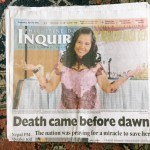 The Philippine Daily Inquirer. Photograph © Tammy David.