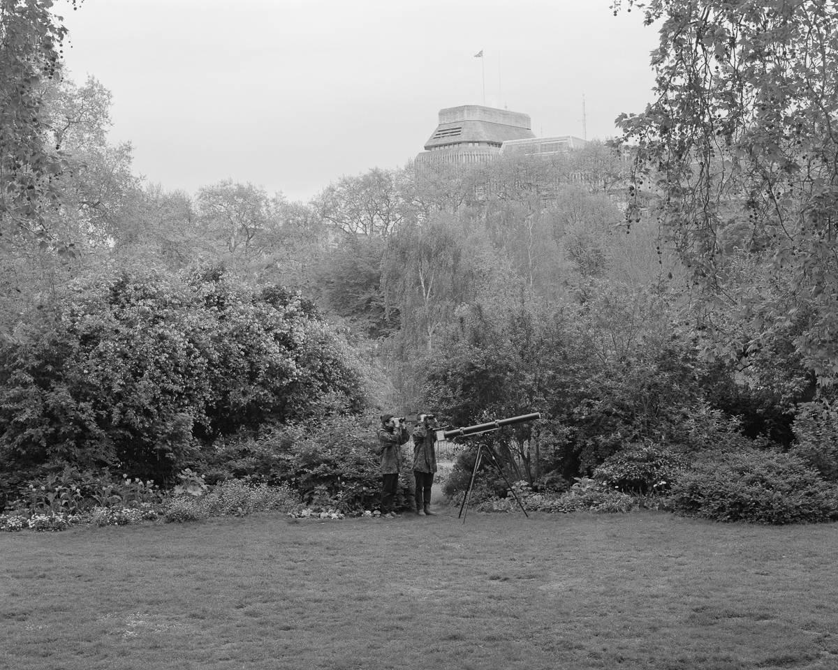 Bird Hunting with Tele-Pinhole Camera, Excursion #5, 2015 © Lam Pok Yin Jeff and Chong Ng