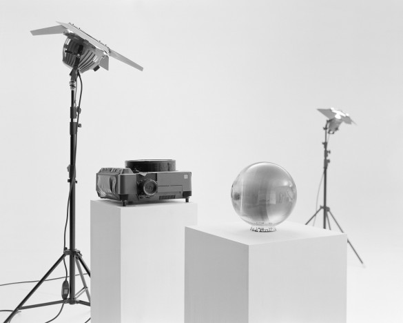 Demostration of Modified Ektapro 9020 Cine photographing Glass Sphere Negative, #17, 2015 © Lam Pok Yin Jeff and Chong Ng