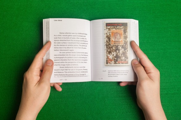 Book Preview: Left to Right. Photograph courtesy of Geraldine Kang.