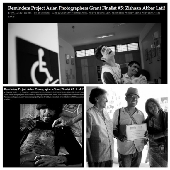 Partnership with Reminders Project Asian Photographers Grant and Angkor Photo Festival