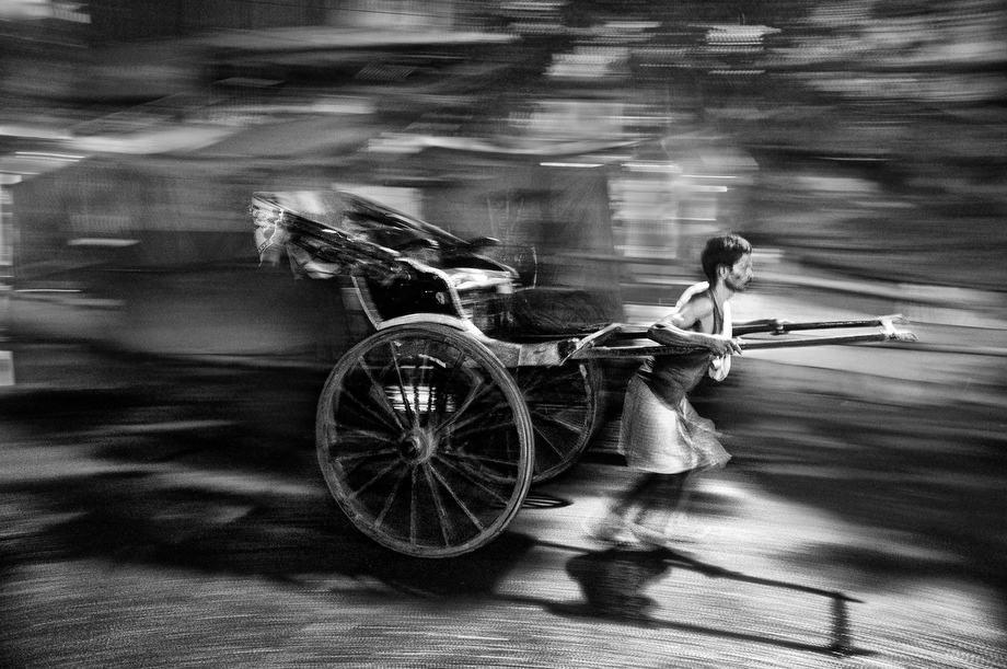 Rickshaw puller - Kolkata