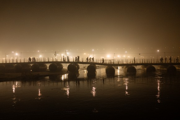 Carnival Of Life at the River Ganges. © Photograph Kevin WY Lee
