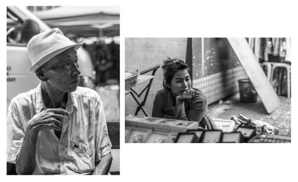 Candid Street Portraits. Photographs by Noor Sofiah
