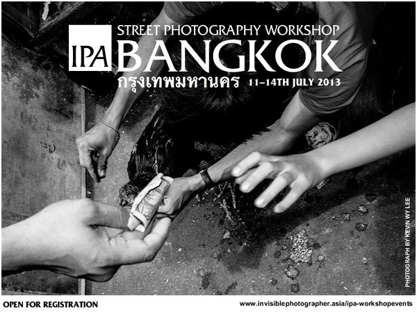 IPA Street Photography Workshop BANGKOK, 11-14th July 2013