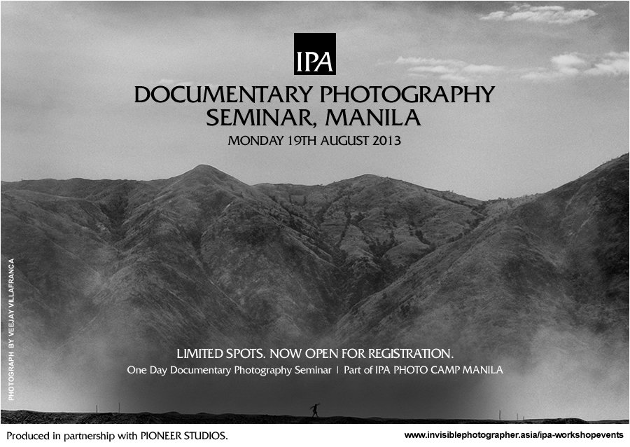 Documentary Photography Seminar, Manila