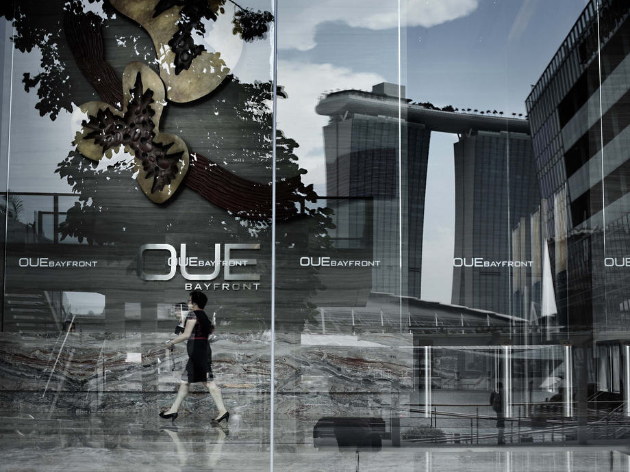 The Island - Singapore financial district