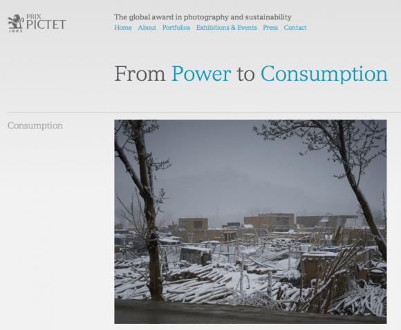 Prix Pictet - From Power to Consumption