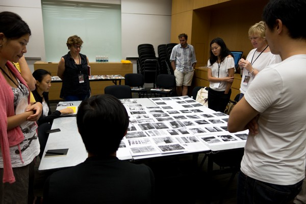 Project reviews at IPA Photo Project to Photo Book Workshop
