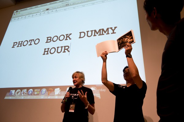 Julie presents her very popular book dummy about a community of dogs at a shelter in Penang.