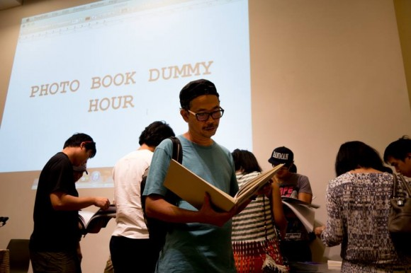 Che Ahmad Azhar presented his first book mockup during the Photo Book Dummy Hour at the show.