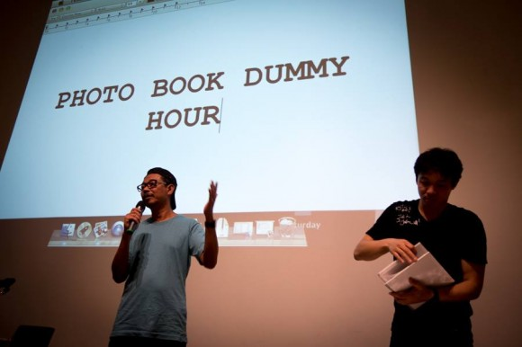Che' Ahmad Azhar and Kosuke Okahara at IPA Photo Books Show 2013.