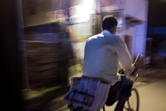 Many weavers are being forced to give up this centuries old craft and take up other low paying jobs like selling news papers. driving cycle rickshaws and  labour jobs.