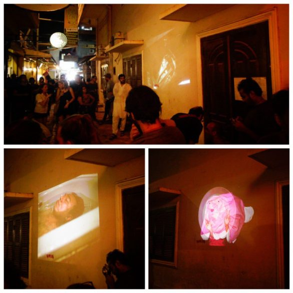 Mentorship Projects by Peter Teh, Shyue Woon and Aik Beng Chia shown at BlowUp Projections at Angkor Photo Festival 2014 in Siem Reap, Cambodia.