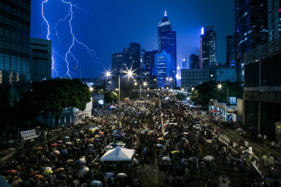 Umbrella Movement (2014). Lam Yik Fei, Hong Kong.