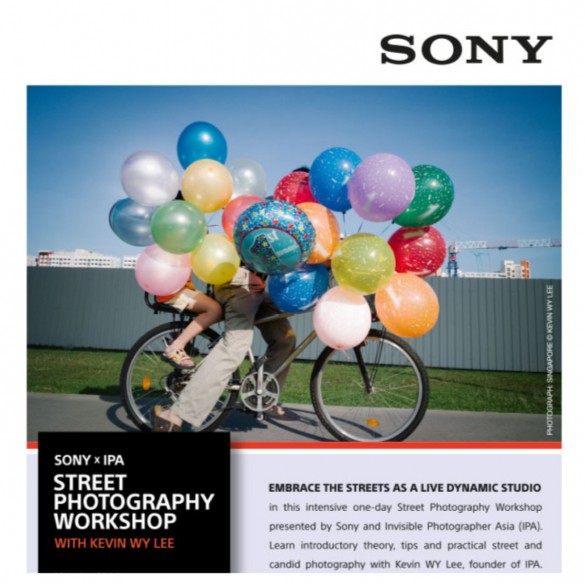 Sony x IPA Street Photography Workshop.