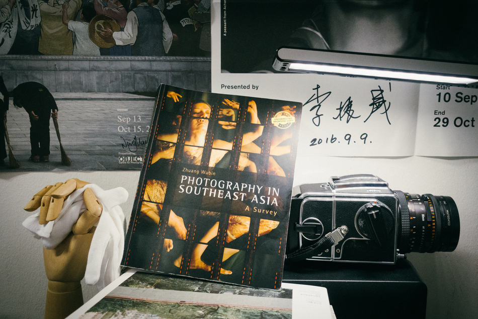 An early review copy at the Invisible Photographer Asia HQ.