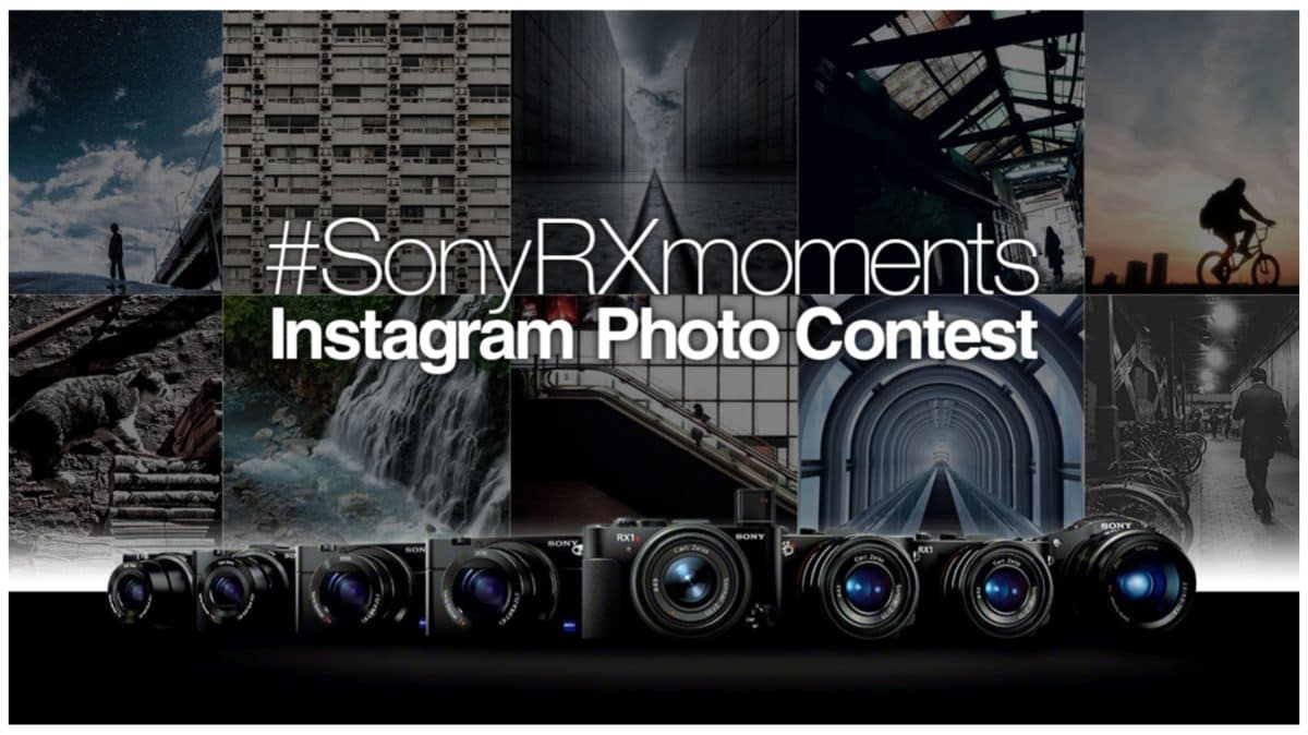 Plug: Win a RX1R2 at the #SonyRXmoments instagram contest