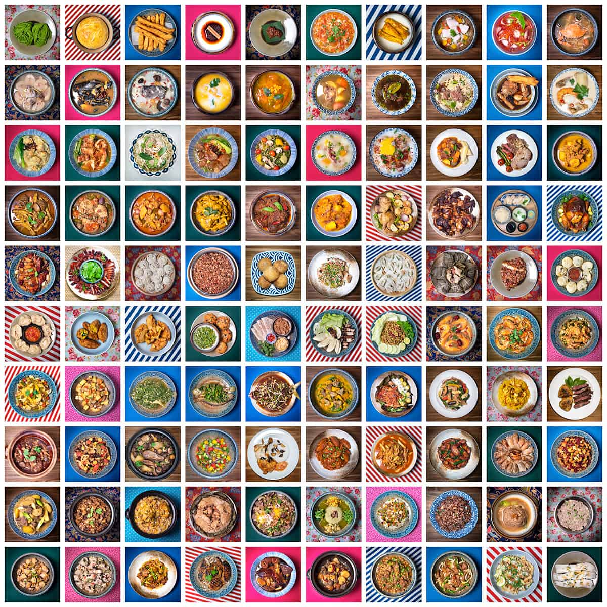 Tapestry of 100 recipes