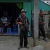 KIA soldiers stand guard in downtown Laiza in Kachin State.